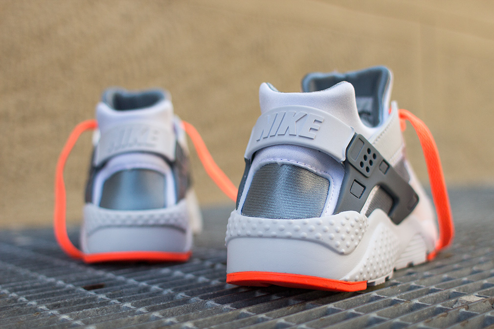 Nike Air Huarache GS \u201cBright Mango  Grey\u201d