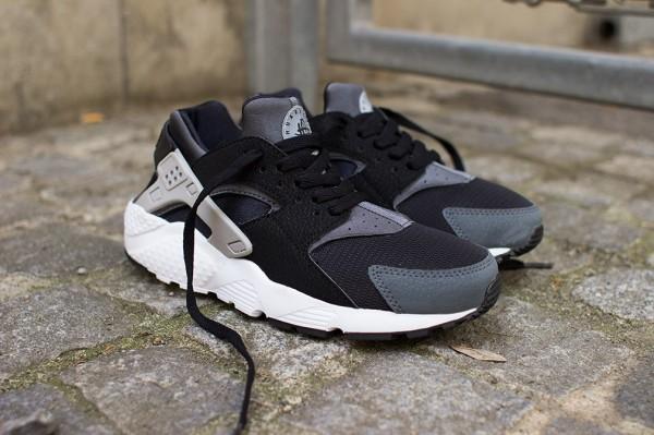 Nike Huarache Gris Et Noir