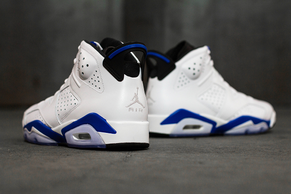 Photo Air Jordan 6 Sport Blue Retro 2014 (2)