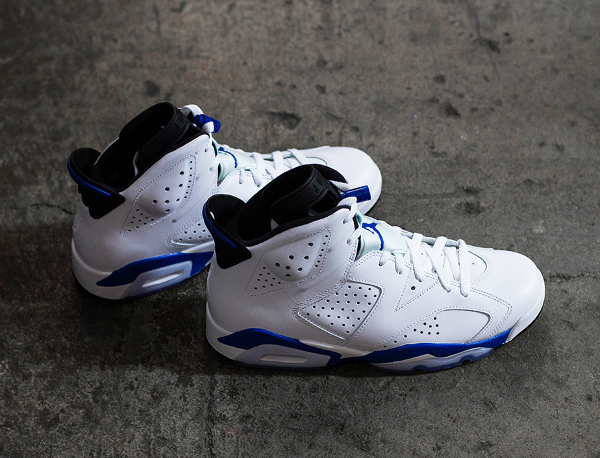 Photo Air Jordan 6 Sport Blue Retro 2014 (3)