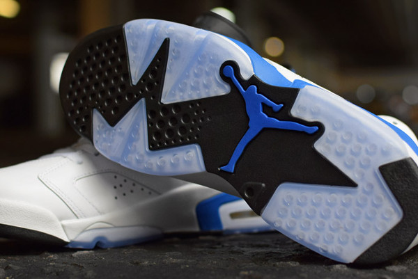 Photo Air Jordan 6 Sport Blue Retro 2014 (7)