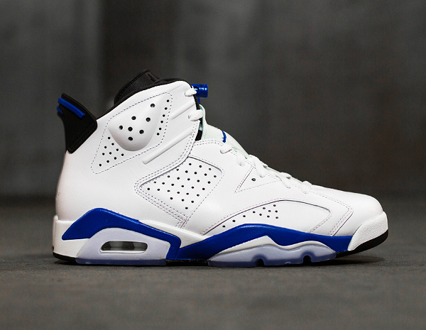 Photo Air Jordan 6 Sport Blue Retro 2014 (9)