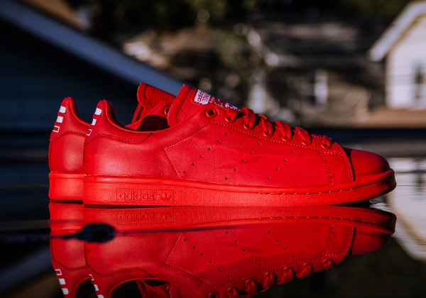 adidas stan smith rouge homme