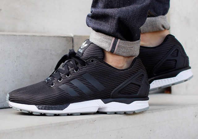 Adidas Zx Flux Woven Black
