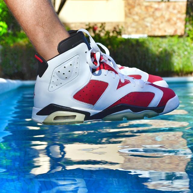Air Jordan 6 Carmine – la sneaker du jour (01/09/2014)