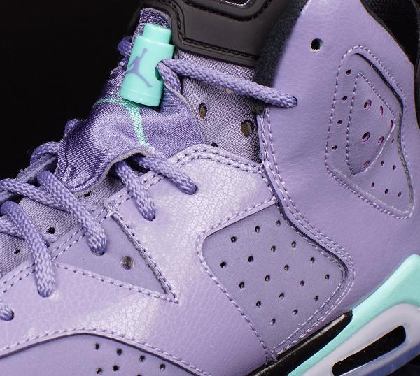 Air Jordan 6 Iron Purple/Bleached Turquoise