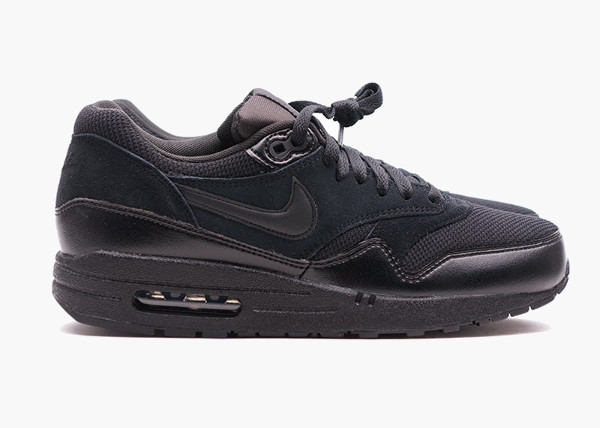 air max 1 black black