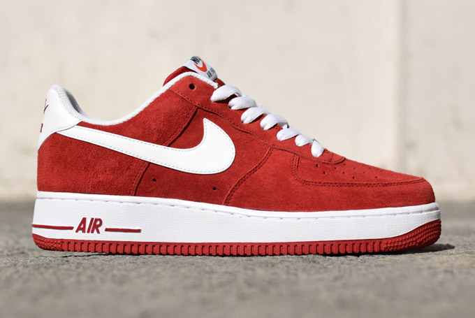nike air force 1 rouge femme