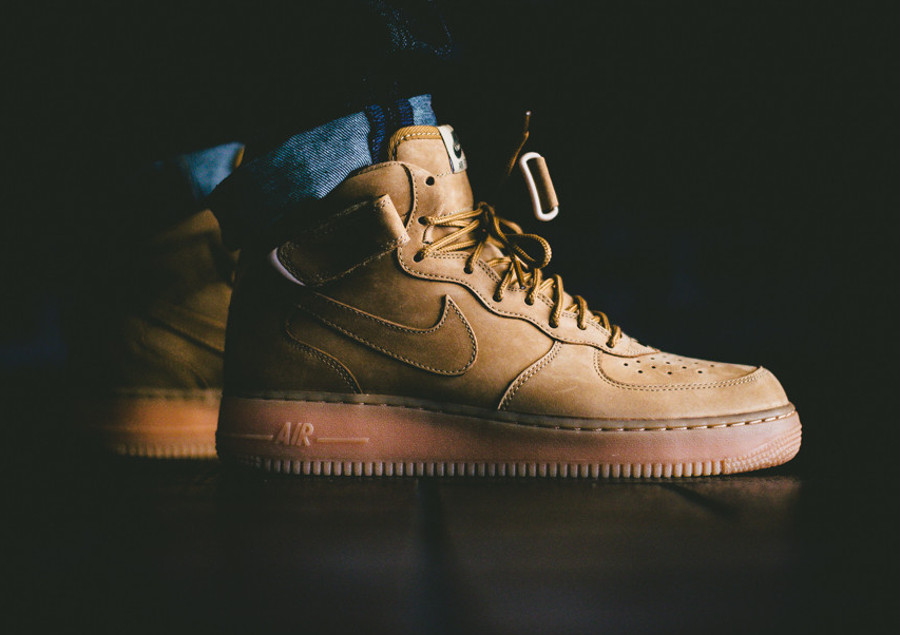 Nike Air Force 1 Mid « Wheat » Quickstrike post image