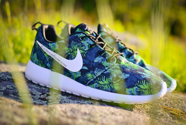 Nike Roshe Run Palm Trees Poison Green (4)