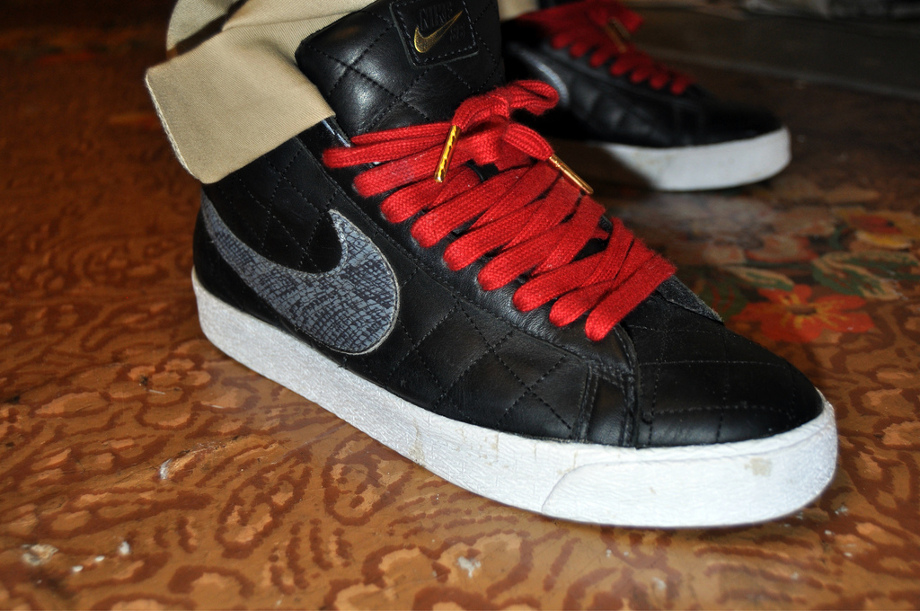 1-Nike Blazer SB x Supreme Black - Nekuserizawa