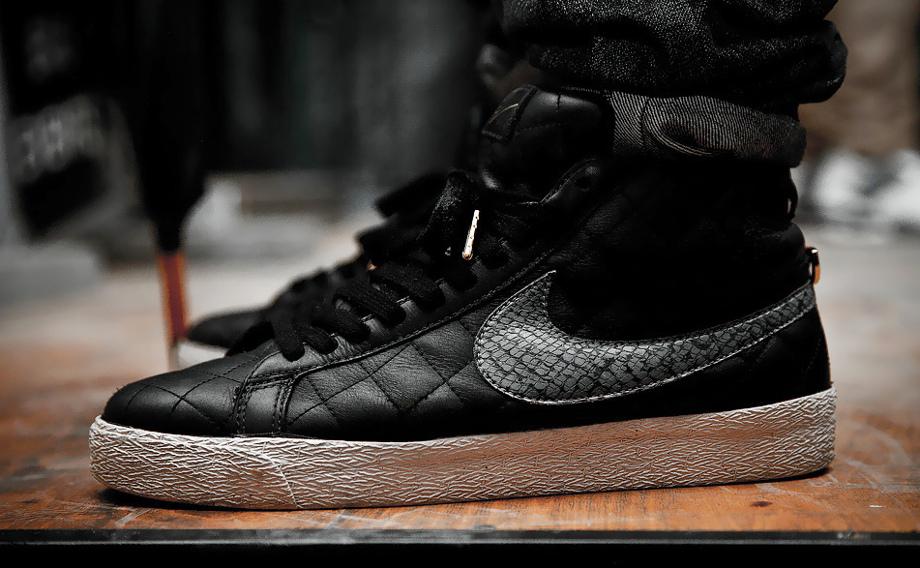 1-Nike Blazer SB x Supreme Black - Shooto
