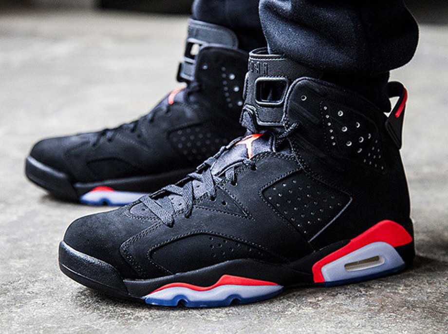 air jordan 6 black infrared