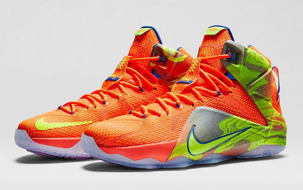 Nike Lebron 12 '6 Meridians' thumbnail