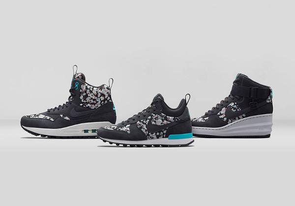 La collection Nike x Liberty Of London 'Belmont Ivy Dark Grey' post image