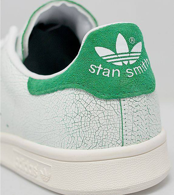 Stan Smith Rouge Craquelées