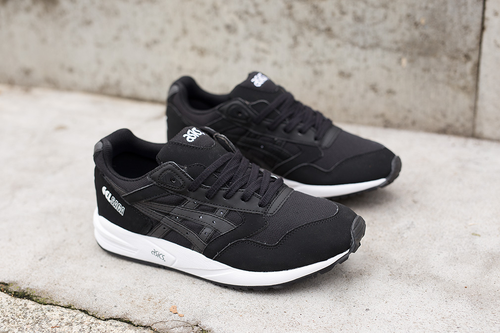 Mens Shoes ASICS Tiger GEL Saga Black Pro:Direct Select