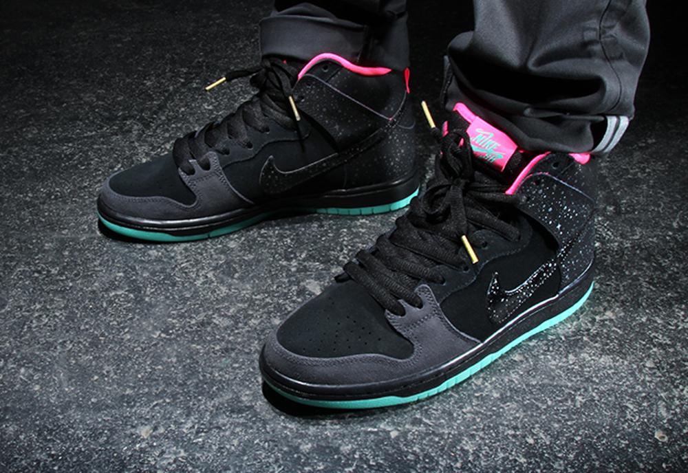 Nike Dunk Hi SB x Premier 'Northern Lights' post image