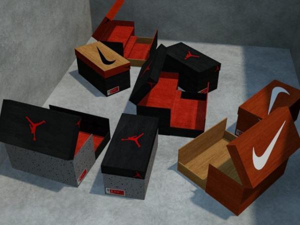 placard chaussure jordan