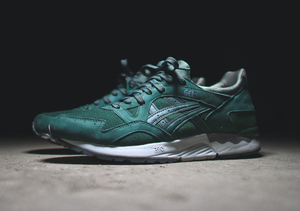 asics gel lyte 5 dark green
