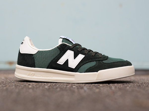 new balance blanc vert