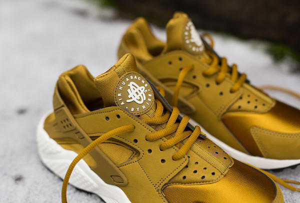 Nike Air Huarache Bronzine (dorée) (1)