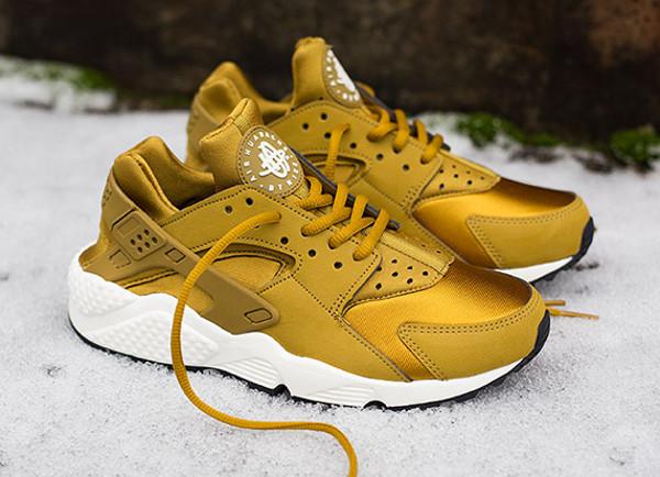 Nike Air Huarache Bronzine (dorée) (4)