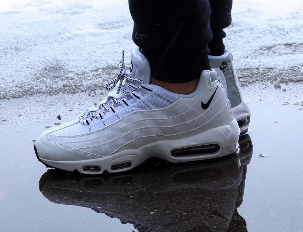 air max 95 porte,Chaussures Homme Nike Air Max 95 V SP Blanc