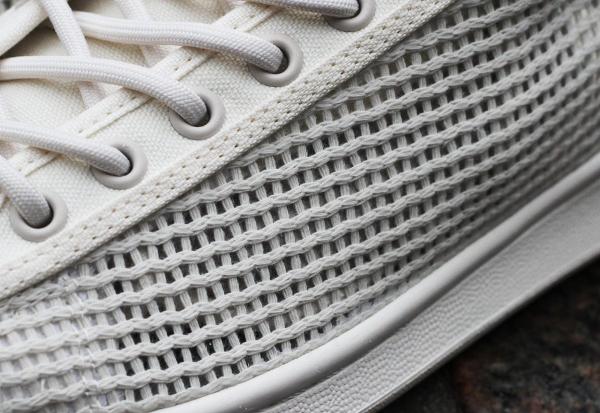 Adidas Stan Smith Woven Chalk White & Core Black