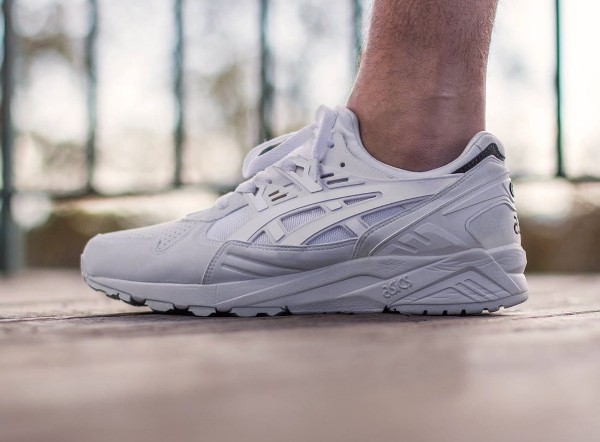 asics gel kayano blanche homme