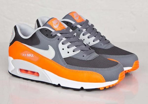 Nike Air Max 90 Gray Orange