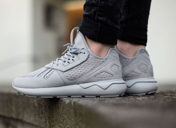 adidas tubular runner gris