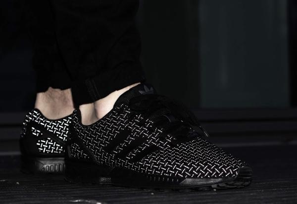 buy online 83f01 680b4 Adidas Zx Flux 3m Black wallbank-lfc.co.uk