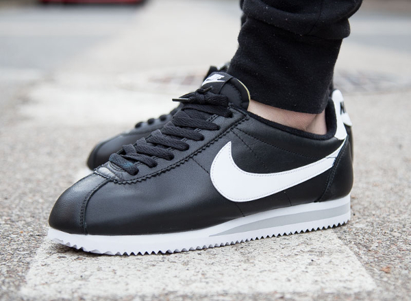 Nike Cortez Blanche Et Noir Femme