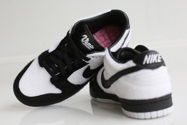 Nike Dunk Low GS Black White Panda Ueno (3)