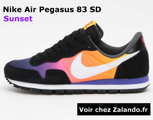 bannier nike air pegasus 83 sd sunset