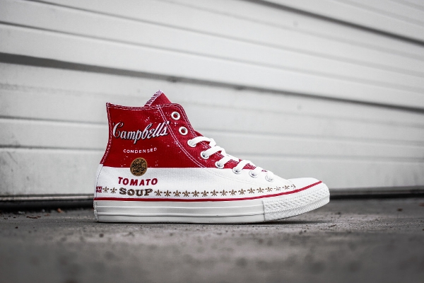 Converse Chuck Taylor x Warhol ' Campbell's Tomato Soup'