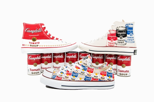 Converse Chuck Taylor x Warhol ' Campbell's Tomato Soup' post image