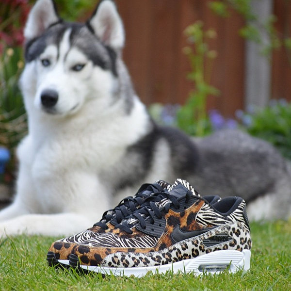 nike air max 90 leopard safari