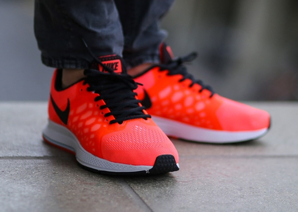 best in stock latest nike zoom pegasus 31 orange blue