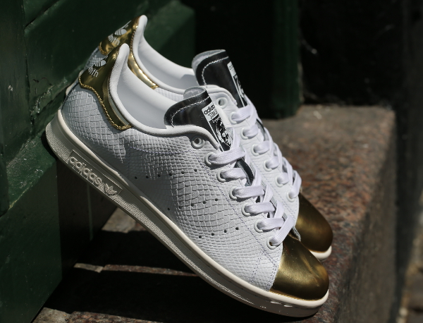 stan smith grise gold