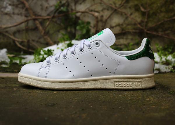 meet 65e59 871e9 Adidas Stan Smith Vintage Neo White Fairway Green