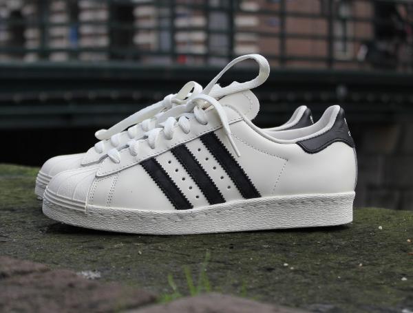 Adidas Superstar 80s Vintage Deluxe OG White Black