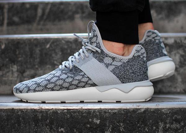 Adidas Tubular Primeknit Stone Grey