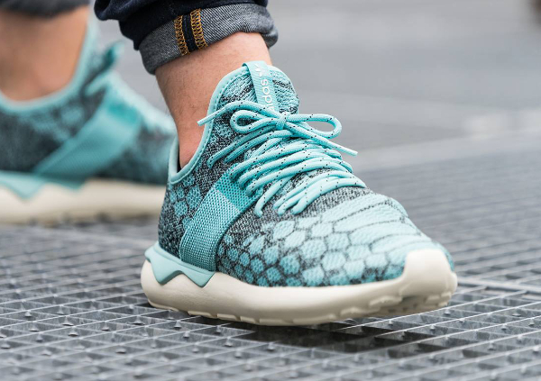 Adidas Tubular Runner Primeknit Blue