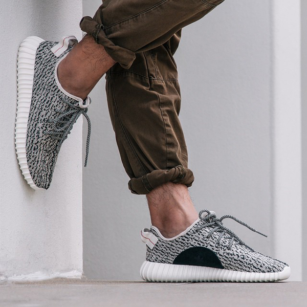 Adidas Yeezy Boost 350 'Moonrock' In Motion
