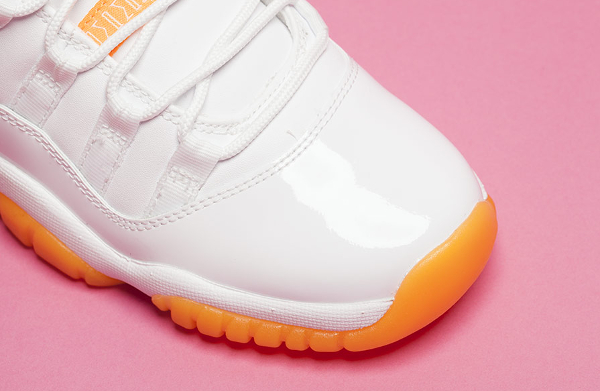 Air Jordan 11 Low GS White Citrus Retro 2015 (1)