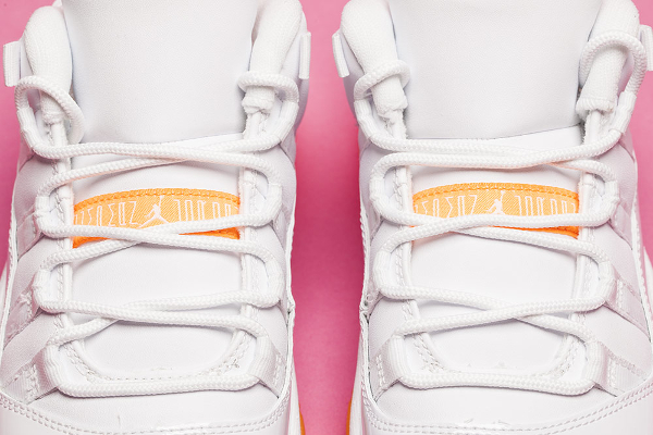 Air Jordan 11 Low GS White Citrus Retro 2015 (3)