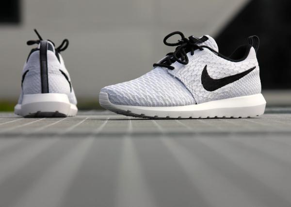 vlxrh Nike Flyknit Roshe Run NM White Wolf Grey (2)