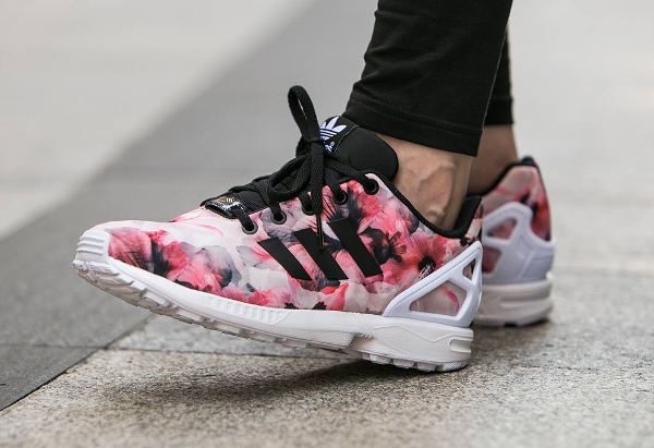 image adidas zx flux rose